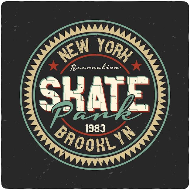 Vintage label-design