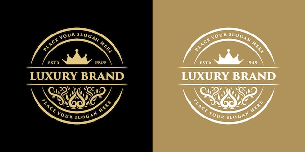 Vintage luxus grenze grenze antiken logo logo rahmen etikett hand gezeichnete gravur retro geeignet für hand craft bier, weinhandlung und restaurant