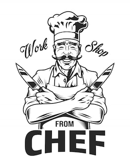 Vintage monochrom kochen