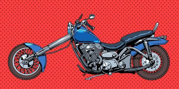 Vintage motorrad fahrrad