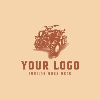 Vintage quad logo