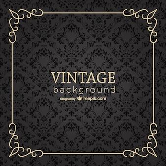 Vintage-rahmen hintergrund