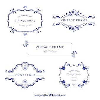Vintage-rahmen-sammlung