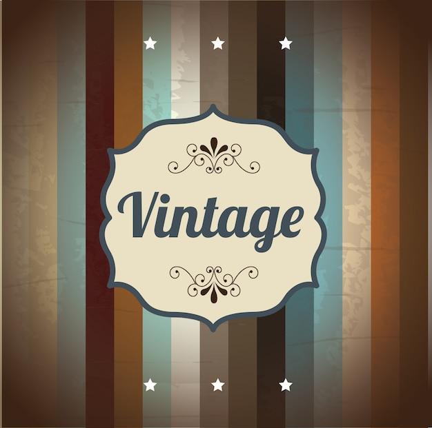 Vintage-rahmen