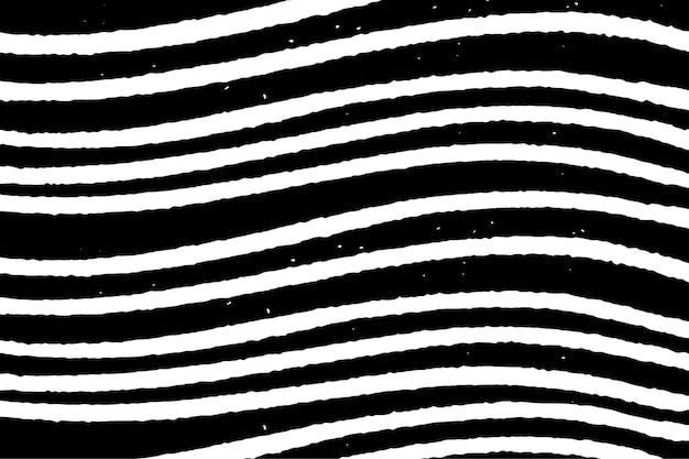 Vintage schwarzer holzschnitt-muster-hintergrundvektor, remix aus kunstwerken von samuel jessurun de mesquita Kostenlosen Vektoren