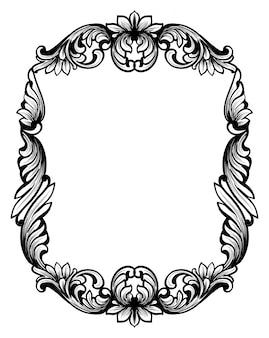 Vintage spiegelrahmen