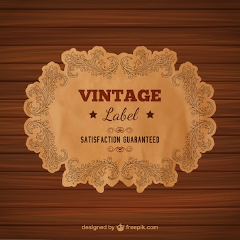 Vintage-stil etiketten