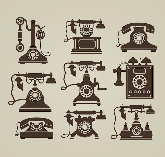 Vintage-telefone