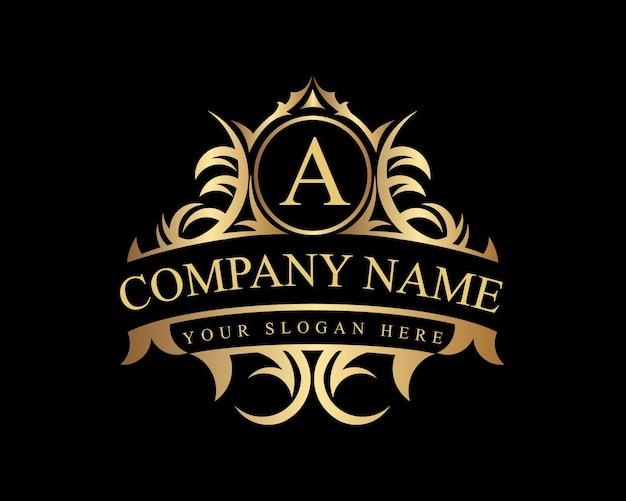 Vintage und luxus logo vorlage premium vektoren,lizenzgebühren