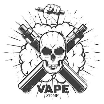 Vintage vape label