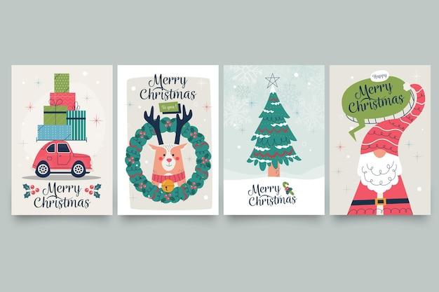 Vintage weihnachtskarten