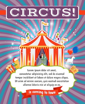 Vintage zirkus