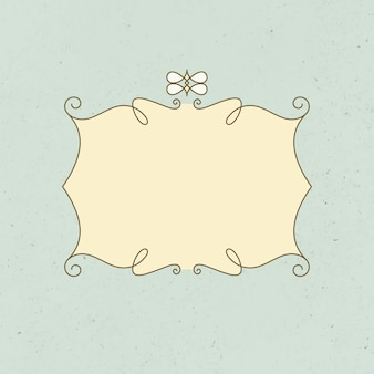 Vintager abzeichenvektor, dekoratives logo