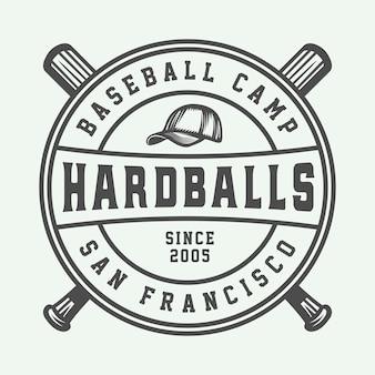 Vintages baseball-sportlogo