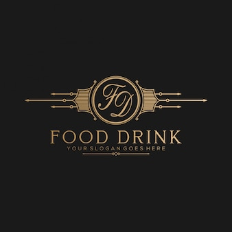 Vintge restaurant logo