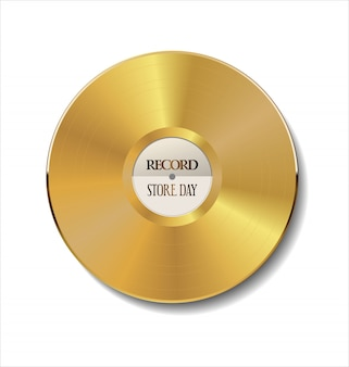 Vinyl ist zurück retro vintage hintergrund