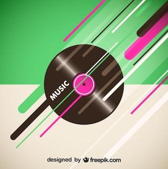 Vinyl vektor-hintergrund