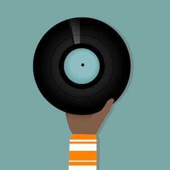 Vinylscheibe