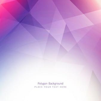 Violet polygonalen hintergrund
