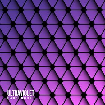 Violette dreiecke hintergrund vorlage