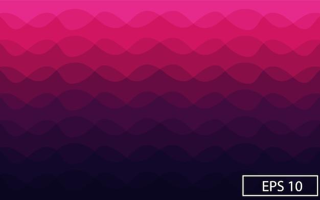 Violetter abstrakter hintergrund der welle