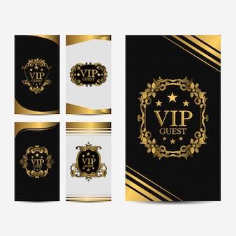 Vip premium-luxuskarte
