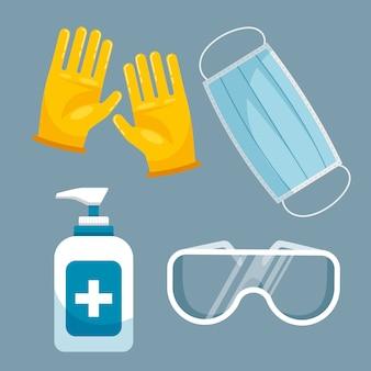 Virenschutz-ausrüstungspaket
