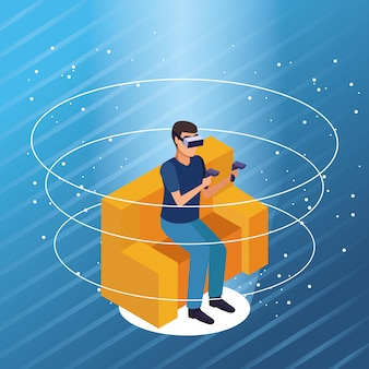 Virtual-reality-brillentechnologie