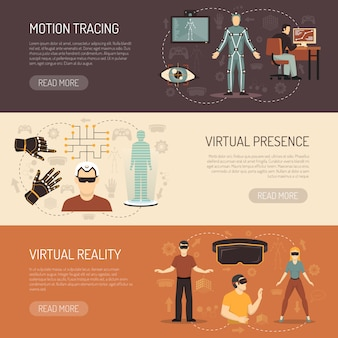 Virtual reality games banner