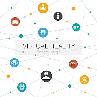 Virtual-reality-konzept