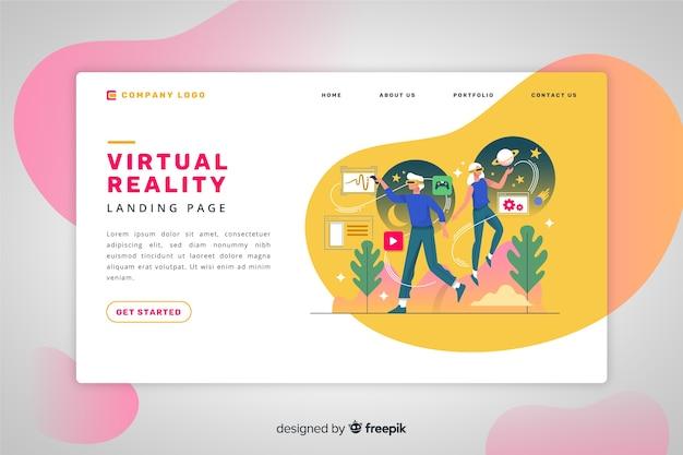 Virtual-reality-zielseite