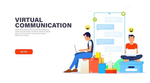 Virtuelle kommunikation