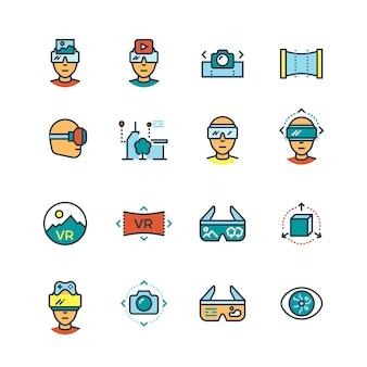 Virtuelle realität am computer, visuelle kommunikationsinnovation