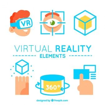 Virtuelle realität elemente