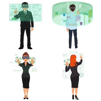 Virtuelle realität. mobile und computersysteme.