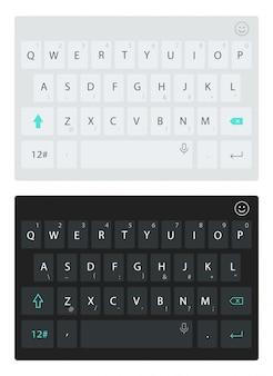 Virtuelle smartphone-tastatur