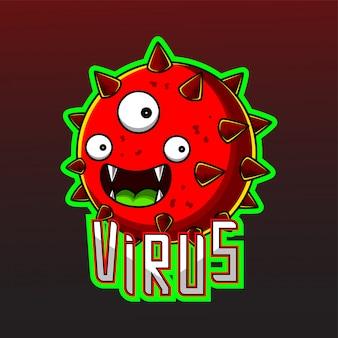 Virus cartoon esport