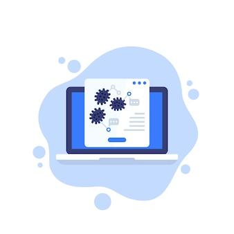 Virusforschung, epidemiologie-ikone
