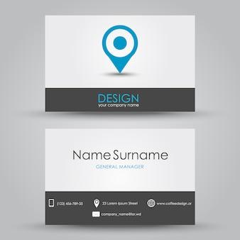 Visitenkarte entwerfen