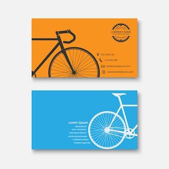 Visitenkarte fahrrad
