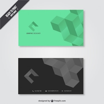 Visitenkarte für grafik-designer