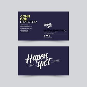 Visitenkarte junge design