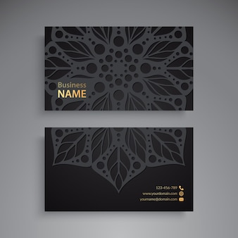 Visitenkarte luxus