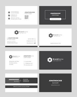 Visitenkarte minimal style