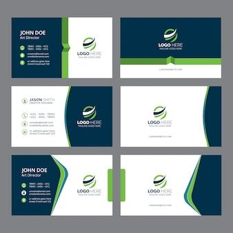 Visitenkarte und Markenidentität Vorlage