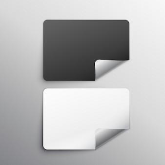 Visitenkarten, mock-up
