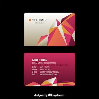 Visitenkarten vorlage