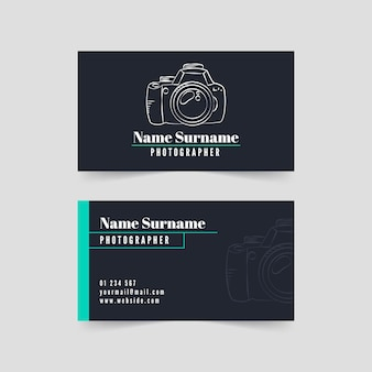 Visitenkartenpaketvorlage