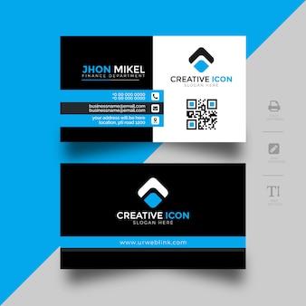 Visitenkartenvorlage für unternehmen