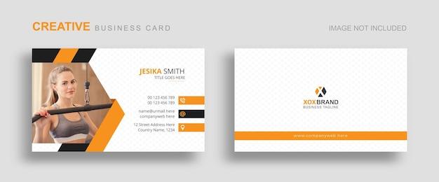 Visitenkartenvorlage für visitenkarten